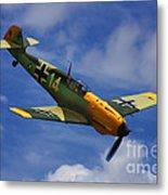 Bf 109 Messerschmitt  Metal Print