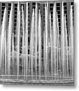 Bellagio Fountains Work A Metal Print
