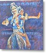 Bharatha Naatyam Metal Print