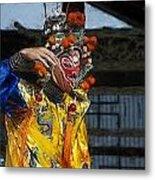 Bian Jiang Dancer Color Drawing Hp Metal Print