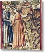 Bibbia Istoriata Padovana. 14th C. - Metal Print