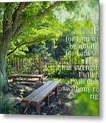 Bible Verse 01 Metal Print