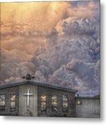 Biblical Sunset Metal Print