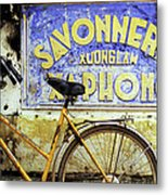Bicycle 01 Metal Print