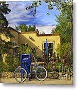 Bicycle In Santa Fe Metal Print
