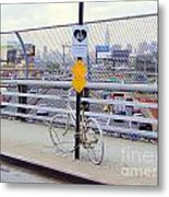 Bicycle Memorial Metal Print