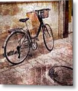 Bicycle Revisited Metal Print