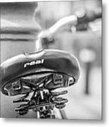 Bicycle Seat.  Metal Print
