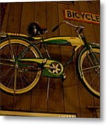 Bicycle Shop Metal Print