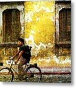 Bicycle Textures Metal Print