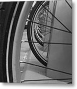 Bicycle Tires..... Metal Print