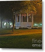 Bienville Square Grandstand In A Foggy Mist Metal Print