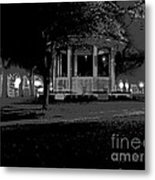 Bienville Square Grandstand Posterized Metal Print