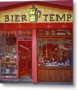 Bier Tempel Metal Print
