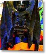 Big Bad Bat Metal Print