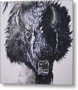 Big Bad Buffalo Metal Print