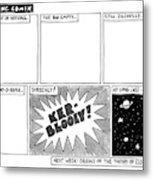 Big Bang Comix Metal Print