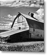 Big Barn Near Ellensburg Washington 2 Metal Print