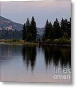 Big Bear Lake Metal Print