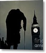 Big Ben And Winston Churchill  Metal Print