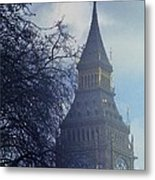 A Surreal Vision Of Big Ben, London Metal Print