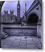 Big Ben Through The Arch Metal Print