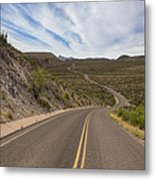 The Winding Roads Of Big Bend National Park Metal Print