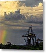 Big Bend Rainbow Metal Print by Marvin Spates