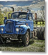 Big Blue Mack Metal Print