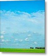 Big Blue Texas Sky Metal Print