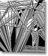 Big Bunk Theory Metal Print