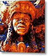 Big Chief Tootie Metal Print