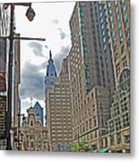 Big City Streets Metal Print