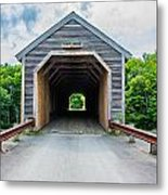 Big Covered Bridge Metal Print by Jason Brow