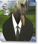 Big Fish Little Pond Metal Print