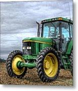 Big Green Tractor Metal Print by Robert Jones