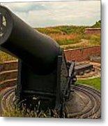 Big Gun Metal Print