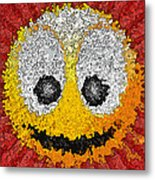 Big Happy Smile Metal Print