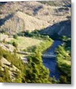 Big Hole River Divide Mt Metal Print by Kevin Bone