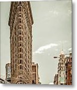 Big In The Big Apple Metal Print by Hannes Cmarits
