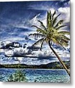 Big Island Beaches V2 Metal Print
