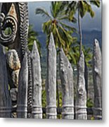 Big Island Hawaii Washed Metal Print