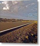 Big Island Road Metal Print