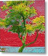 Big Island Tree Metal Print