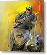 Big Jerry In Memphis Metal Print