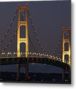 Big Mackinac Bridge 55 Metal Print