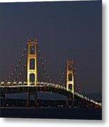 Big Mackinac Bridge 56 Metal Print