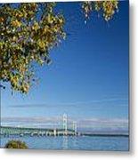 Big Mackinac Bridge 57 Metal Print