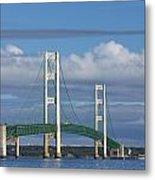 Big Mackinac Bridge 59 Metal Print
