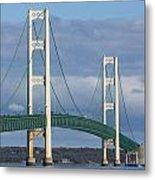 Big Mackinac Bridge 63 Metal Print